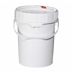 Screwtop Polyethylene Container for Hazardous Material