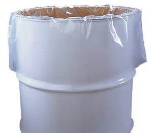 drum liners for plastic drums and barrels